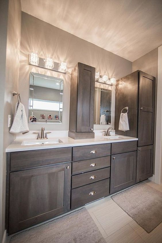 Vanity lights | Budget bathroom remodel, Bathrooms remodel .