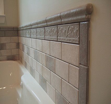 tile around bathtub ideas | Bathroom tiled tub wall full | Tile .