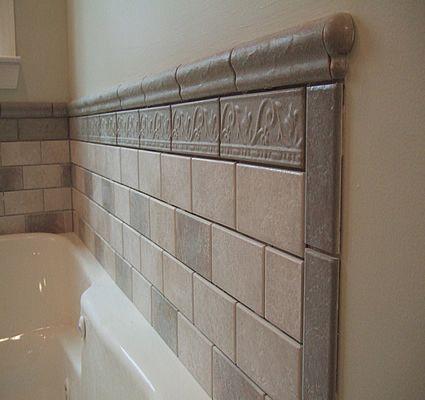 tile around bathtub ideas | Bathroom tiled tub wall full | Tile .