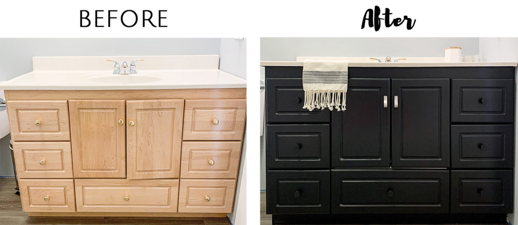 The Easiest Way to Paint Cabinets - List in Progre