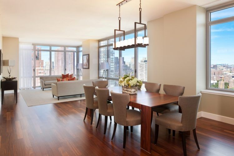 10 Beautiful Dining Rooms with Hanging Lights | Dining room .