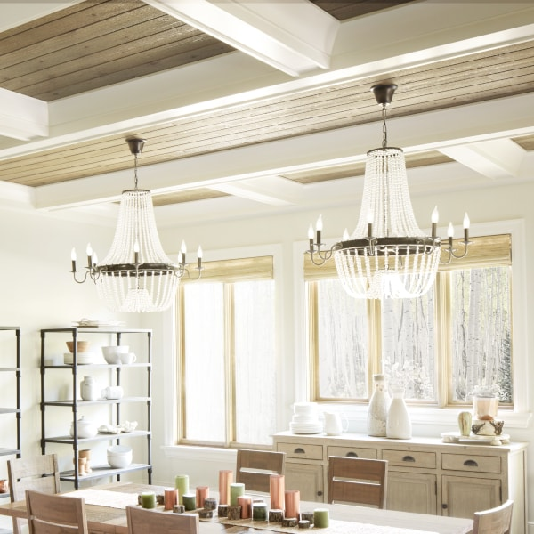 Top 5 Light Fixtures for a Harmonious Dining Room | Overstock.c