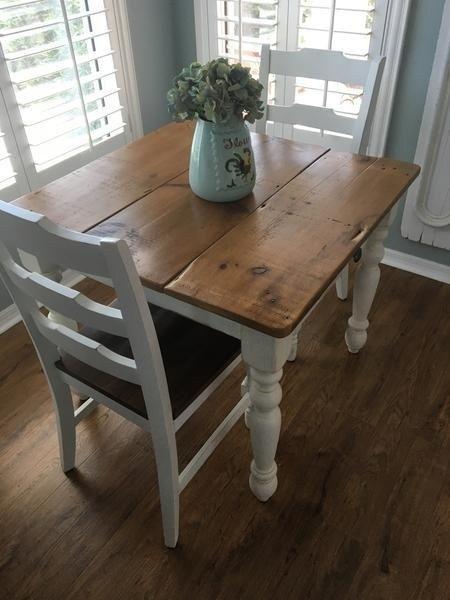 Beautiful Farmhouse Kitchen Table Design Ideas42 | Rustic kitchen .