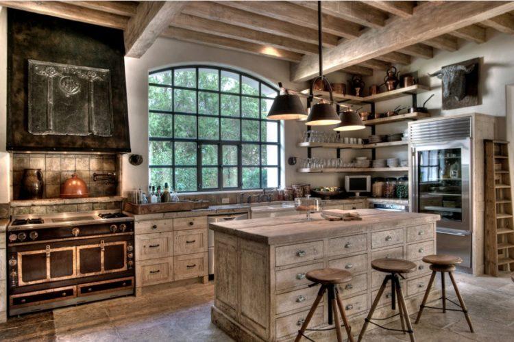 20 Beautiful Rustic Kitchen Ide