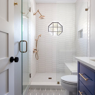 Small Bathroom Tile Design | Hou