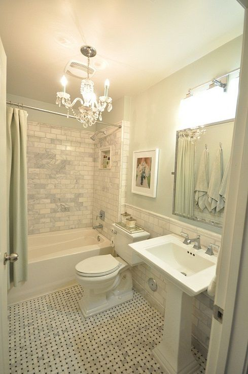 gimme that tile! | Small bathroom, Green bathroom, Bathrooms remod