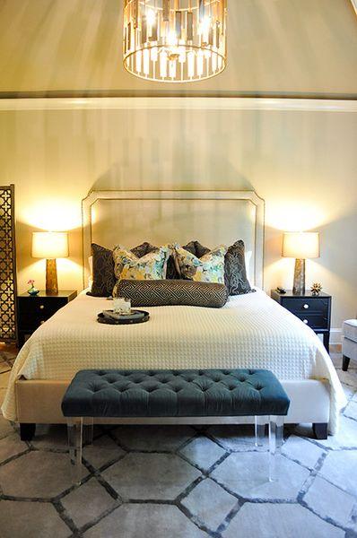 Worldsaway Contemporary Bedroom and Arteriors Bedroom Bench Black .