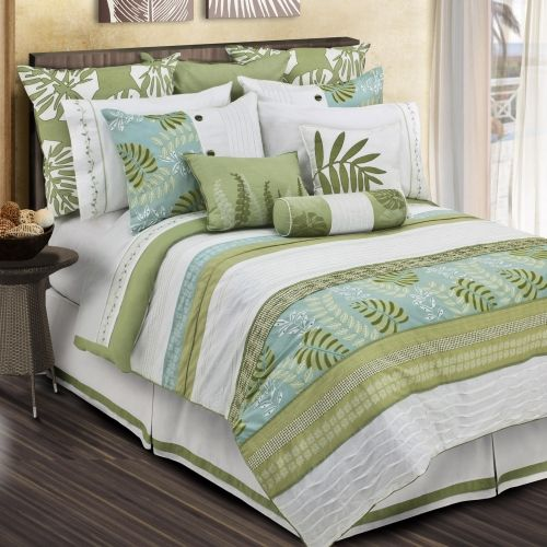 Love this whole bed...just not sure I want white. | Tropical .
