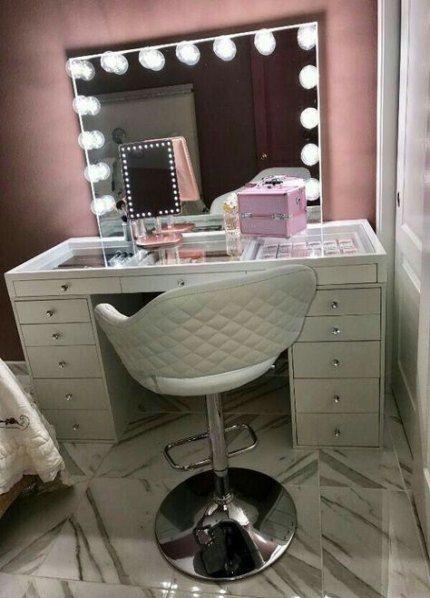 House goals bedrooms makeup vanities 16+ Ideas | Bedroom makeup .
