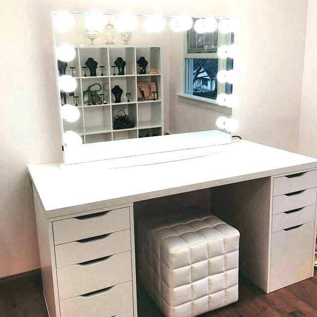 Best Lighting For Makeup Vanity | Ikea fikirleri, Dekorasyon .