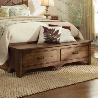 Storage Bench For Foot Of Bed - Ideas on Fot