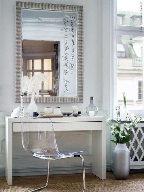 Ghost Chair Ikea - Traditional - bedroom - Ik