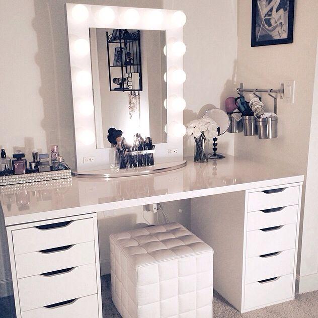 Pin by Thalia Ayoub on Vanity | Home decor, Glam room, Vanity ro