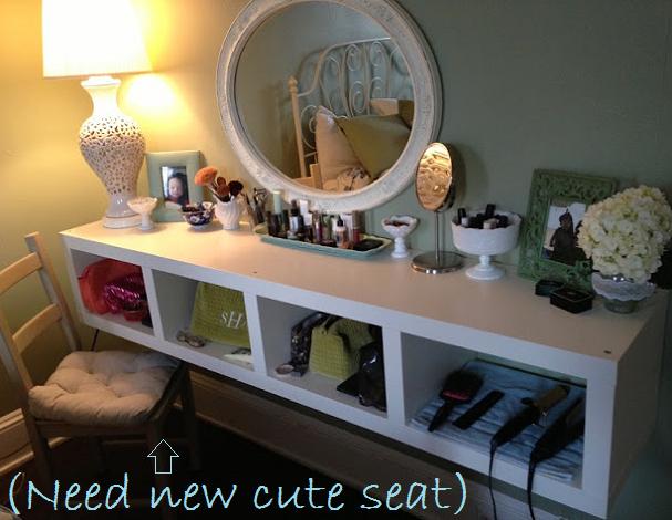 SIS STYLE: Ikea Hack Floating Vanity | Home diy, Ikea shelves .
