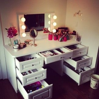 Vanity Dressing Table With Mirror And Lights - Ideas on Fot