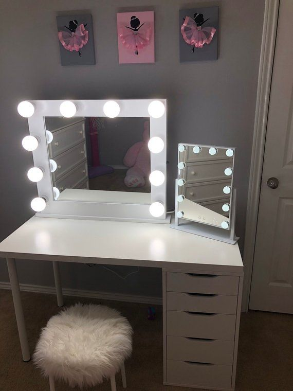 VERY LOW shipping Vanity Mirror with lights   Etsy   Stylish .