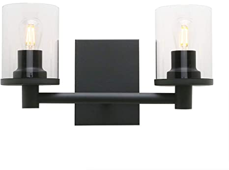 Pathson 2 Light Wall Sconce, Vintage Bathroom Wall Light Fixtures .