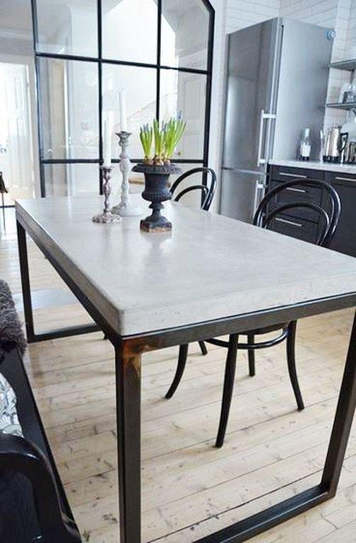 20+ Best Modern Industrial Dining Furniture Set Design And .