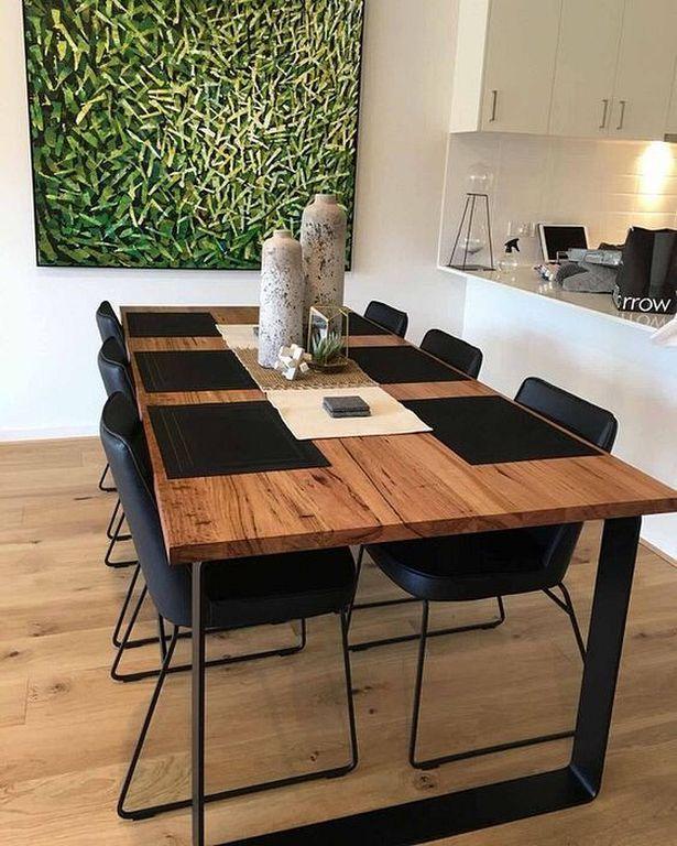 20+ Best Modern Industrial Dining Furniture Set De... - #de .