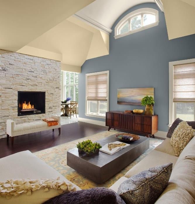 37 Perfect Living Room Color Scheme Ideas - Gongete