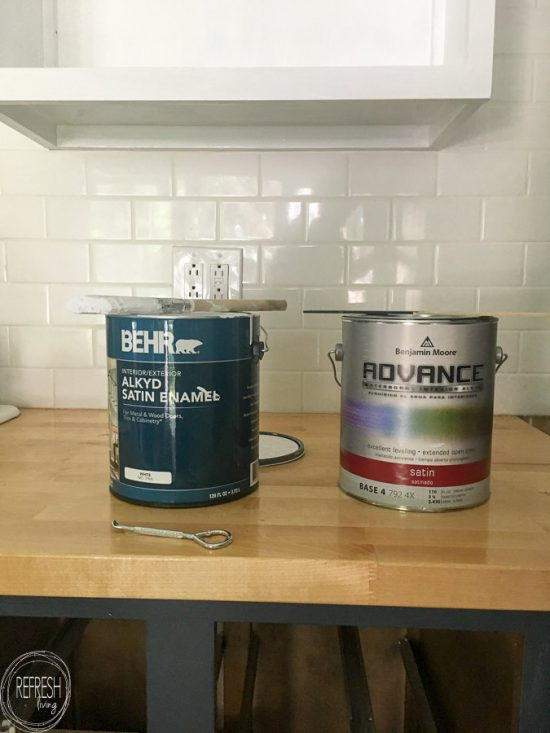 The Best Paint for Kitchen Cabinets - Refresh Livi