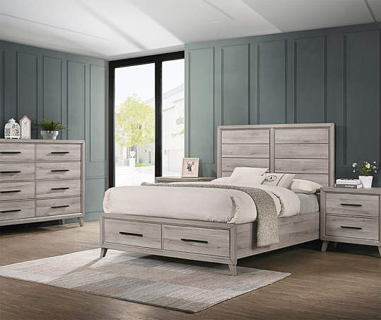 Lennon Queen Bedroom Furniture Collection | Big Lo