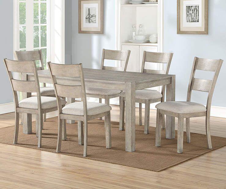 Stratford Hayden Gray 7-Piece Dining Set - Big Lots | Grey dining .
