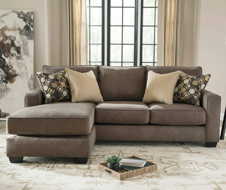 Keenum Taupe Sofa with Reversible Chaise | Big Lots | Taupe sofa .