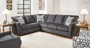 Dawson Denim Living Room Sectional | Big Lo