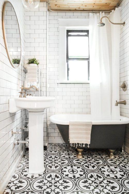Featuring Bathroom Floor Tiles: Gallerie B | Small bathroom, Black .