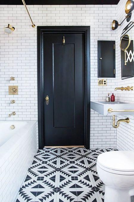 15 Bathrooms With Amazing Tile Floori