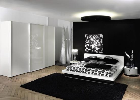 black contemporary bedroom furniture set | Home Designs Proje