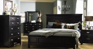 Bedroom Design with Black Furniture | Bedroom furniture design .