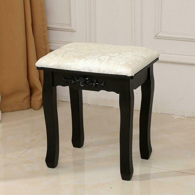 Bedroom Ergonomic Makeup Dressing Vanity Stool Bench Chair W .