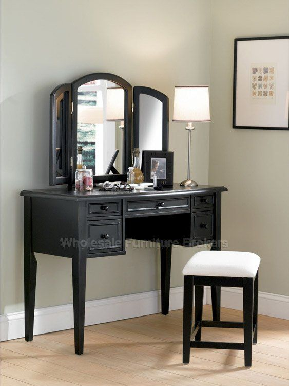 neeeeed this in my bedroom immediately | Bedroom vanity set .