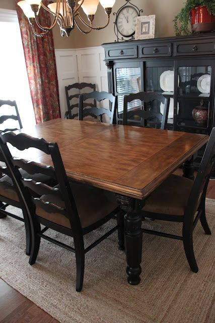 That Village House: The Finished Dining Room {Finally} | Black .