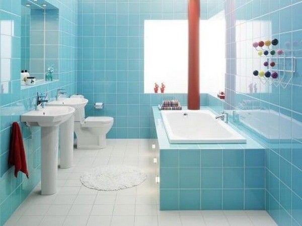 Small Bathroom Floor Tile Designs | ... Small Bathroom Design with .