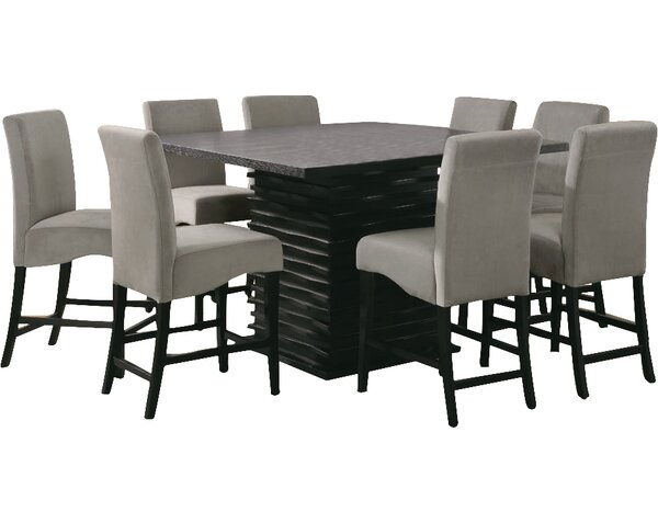 Wade Logan® Bob Counter Height Dining Table & Reviews | Wayfa