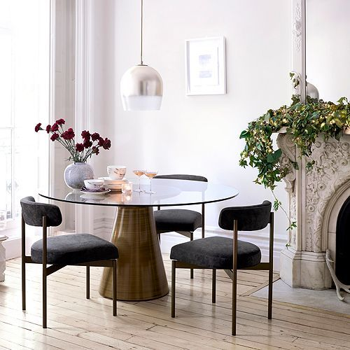 Mitchell Gold Bob Williams Addie Round Dining Tables Furniture .