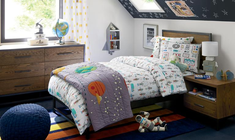 Boys Bedroom Inspiration | Crate and Barr