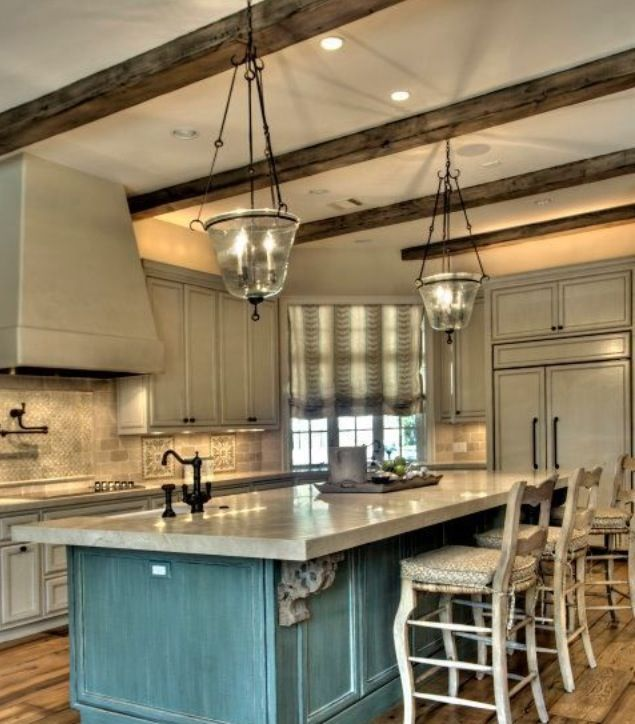 Rustic kitchen | Rustic farmhouse kitchen, Sweet home, Ho