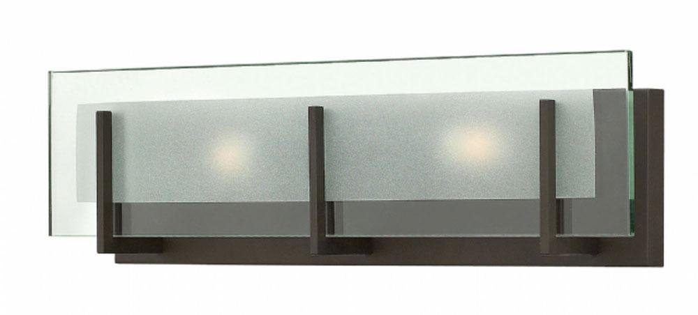 Hinkley 5652OZ Latitude Modern Oil Rubbed Bronze 2-Light Bathroom .
