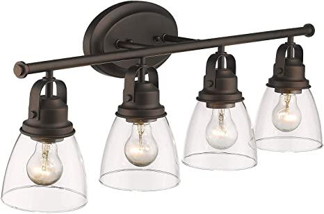 Zeyu 4-Light Vanity Lights, Vintage Bathroom Lighting Fixture 30 .