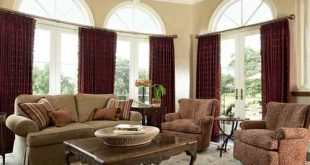 15 Impressive Burgundy Curtains For Living Room To B