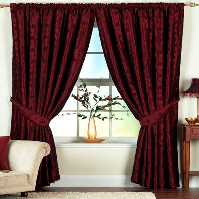 BURGUNDY CURTAINS « Blinds, Shades, Curtains | Burgundy curtains .