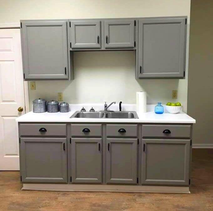 Painting Kitchen Cabinets with Rustoleum Chalk Paint | Chalk paint .