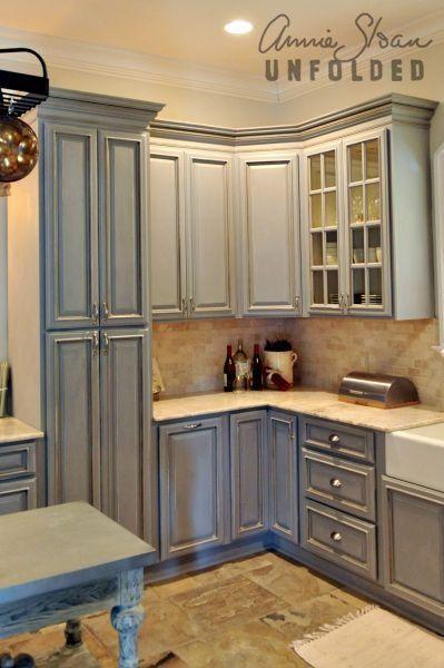 Annie Sloan Chalk Paint Kitchen Cabinets | Annie Sloan a créé une .