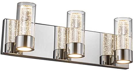 Amazon.com: JINZO LED Bathroom Vanity Light Fixture Bathroom .