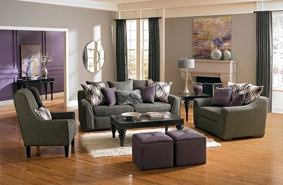 Ritz Upholstery Collection - Value City Furniture-Sofa $599.99 .