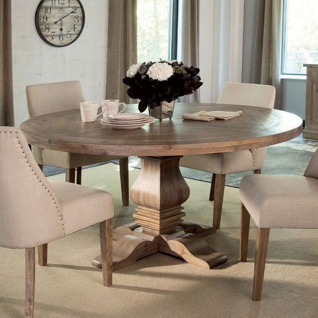 Florence Round Dining Table Coaster Furniture, 2 Reviews .